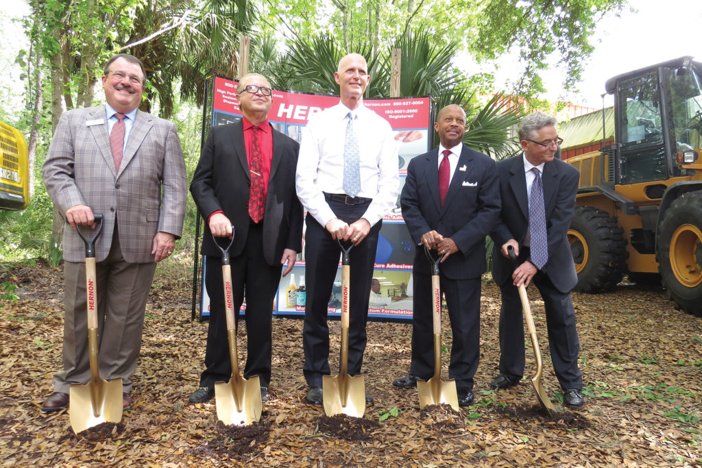 Hernon Manufacturing groundbreaking