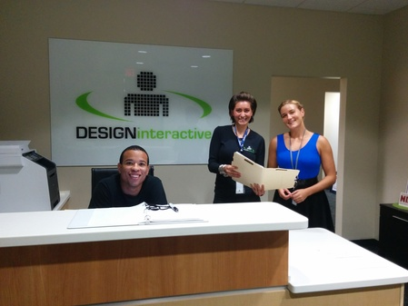Design Interactive Front Desk