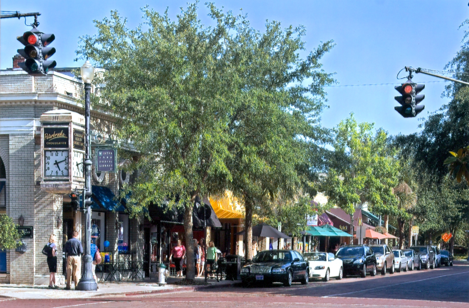 Park Avenue, Winter Park, Florida