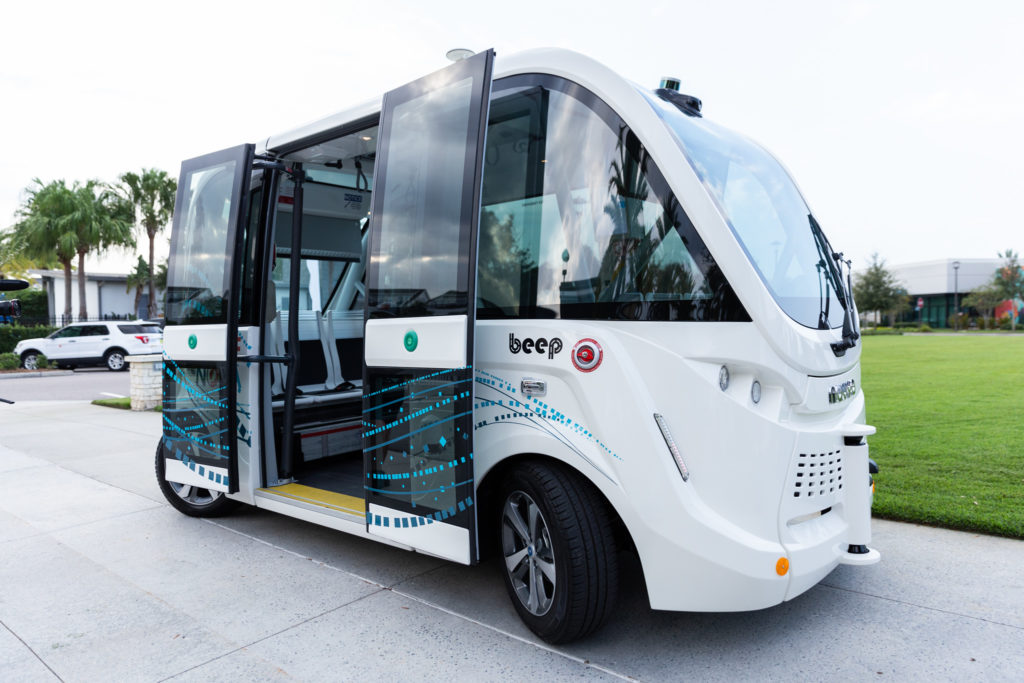 Lake Nona Autonomous Shuttle by Beep and Navya