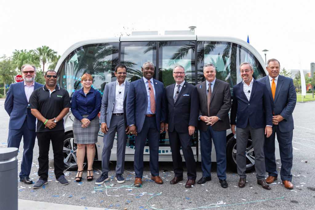 Lake Nona Autonomous Shuttle Service Launch