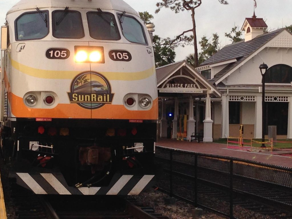 SunRail Orlando Region Public Transit