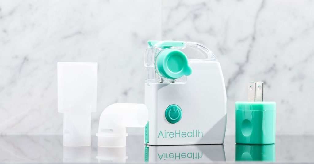 AireHealth Portable Connected Nebulizer