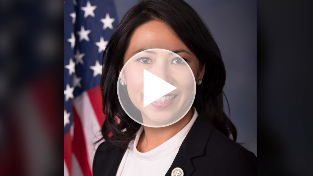 Webinar header with Congresswoman Stephanie Murphy