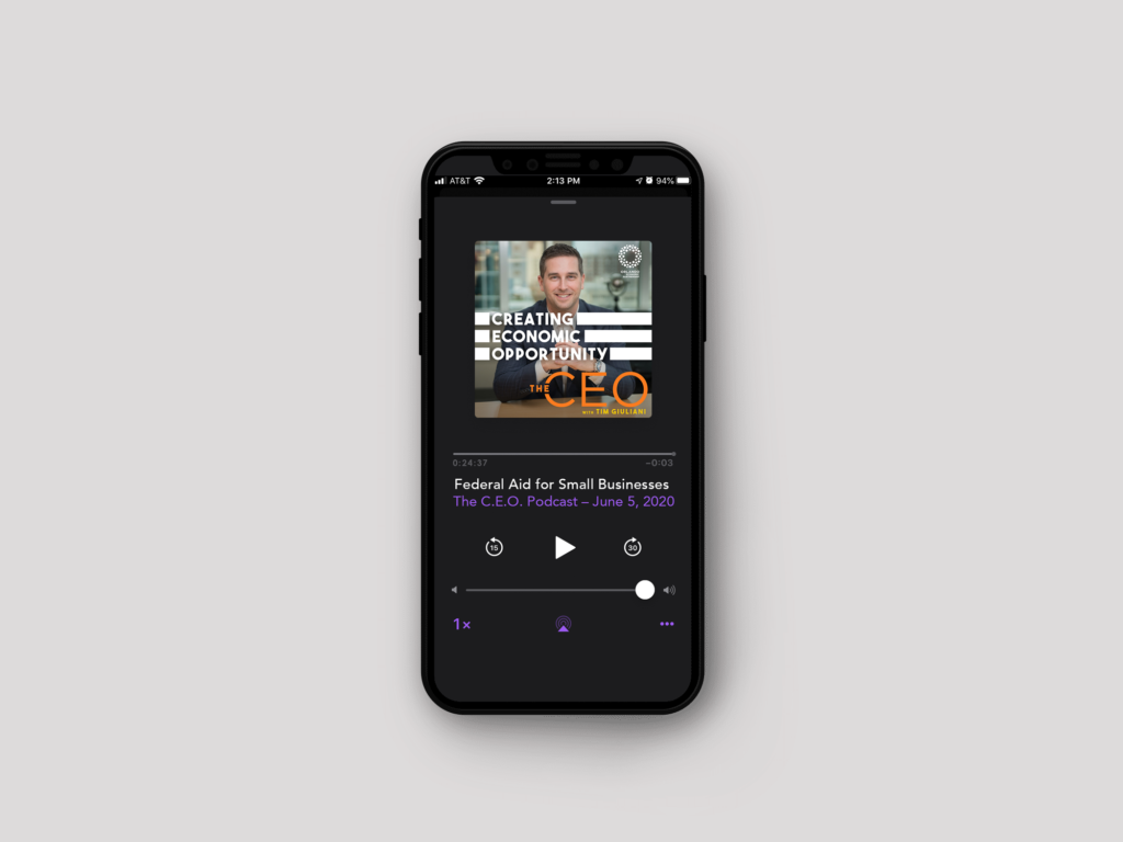 The C.E.O. Podcast Header Image