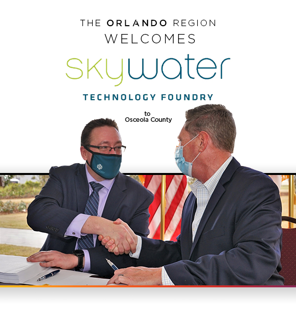 SkyWater and BRIDG partner in Osceola County Florida