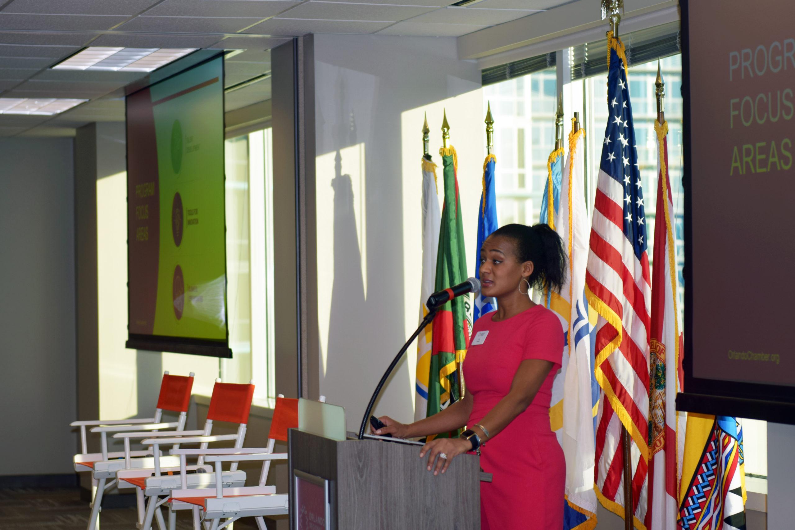 Vice President of the Orlando Regional Chamber Jo Newell