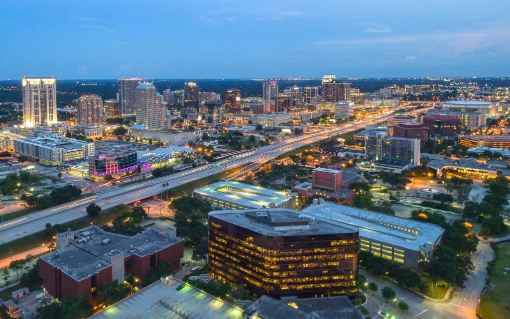 Downtown Orlando Skyline